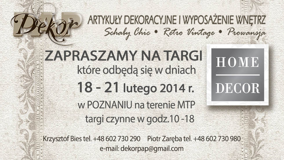 Targi HOME DECOR 2014